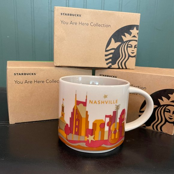 """Starbucks """"You are here collection"""" NASHVILLE"""